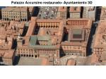 palazzo accursino restaurado ayuntamiento 3d