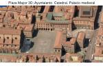 plaza mayor 3d ayuntaiento catedral palacio medieval