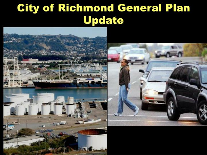 City of Richmond General Plan Update
