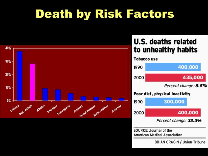 Death by Risk Factors