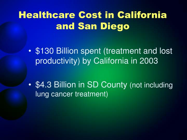Healthcare Cost in California and San Diego