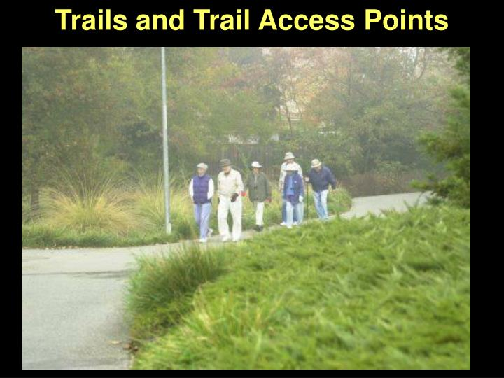 Trails and Trail Access Points
