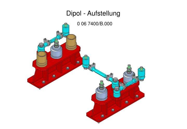 Dipol - Aufstellung