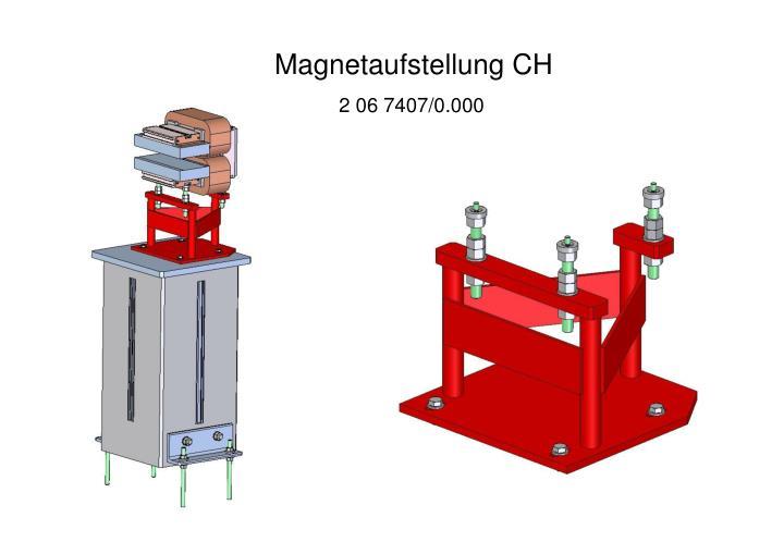 Magnetaufstellung CH