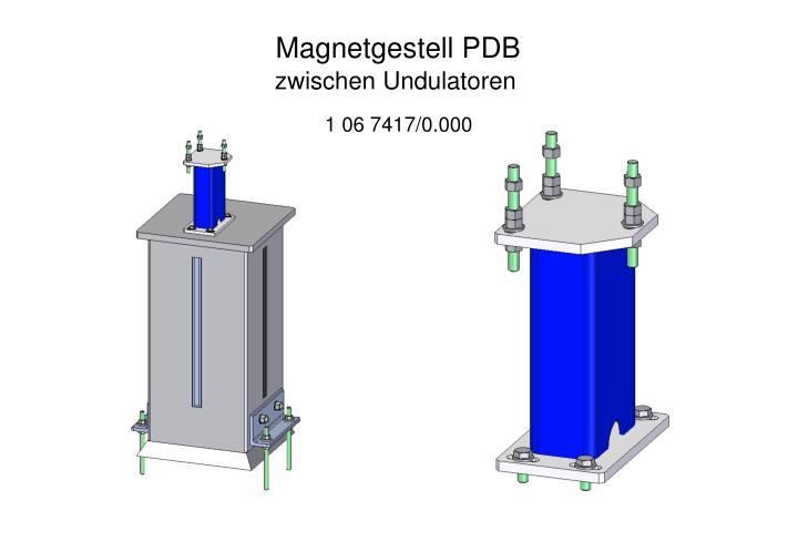 Magnetgestell PDB