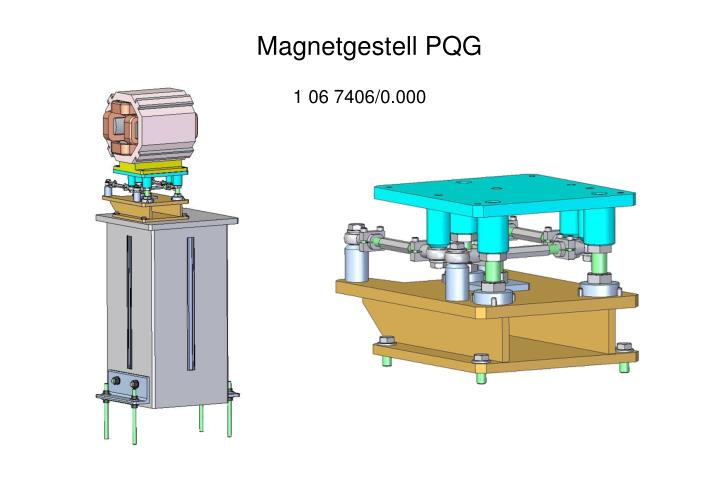 Magnetgestell PQG