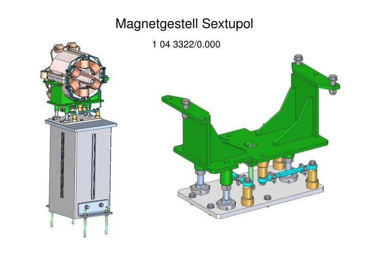 Magnetgestell Sextupol