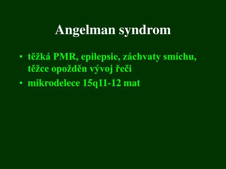 Angelman syndrom