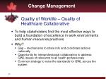 quality of worklife quality of healthcare collaborative