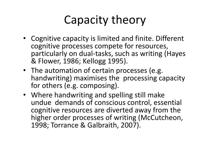 Capacity theory