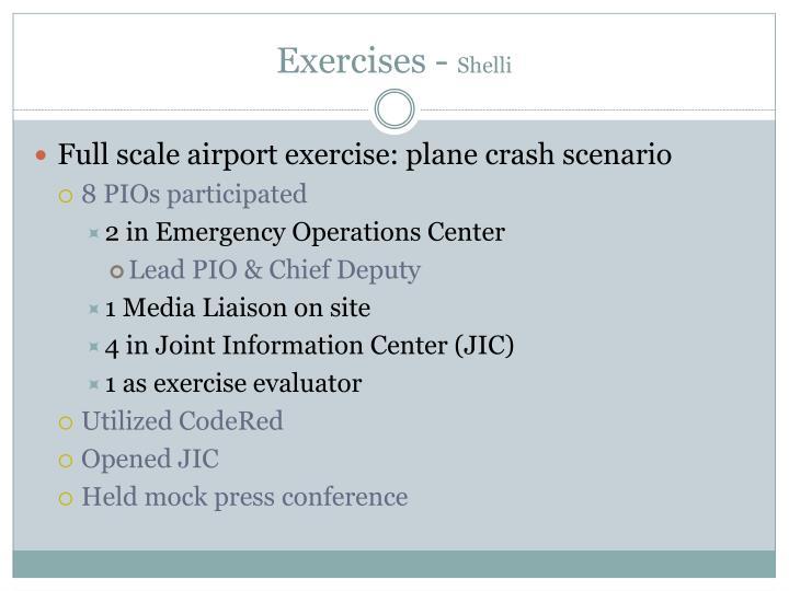 Exercises -