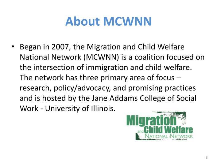About MCWNN