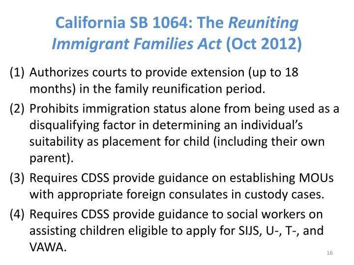 California SB 1064: The
