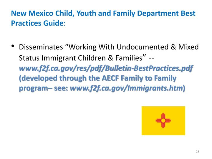 New Mexico Child, Youth and Family Department