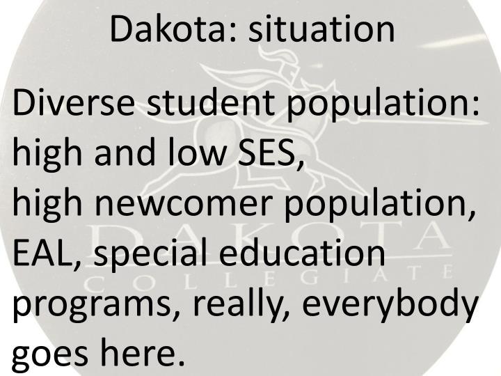 Dakota: situation
