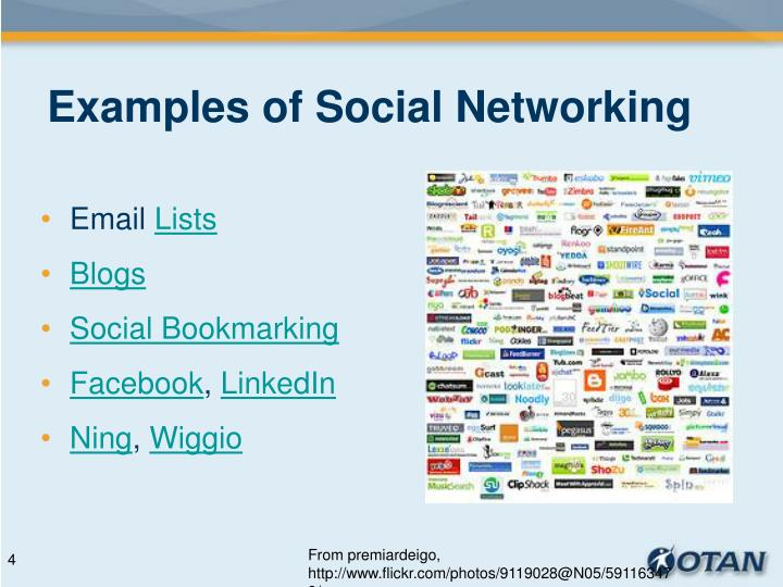 Examples of Social Networking