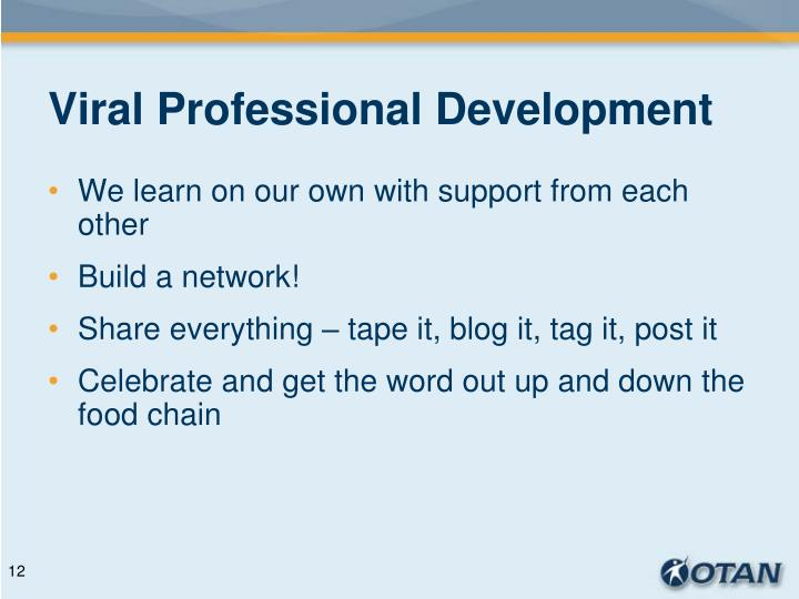 Viral Professional Development