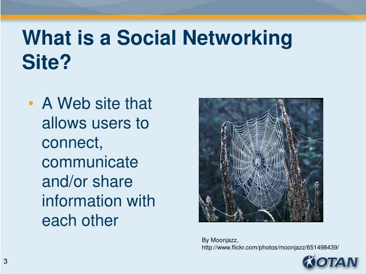 What is a social networking site