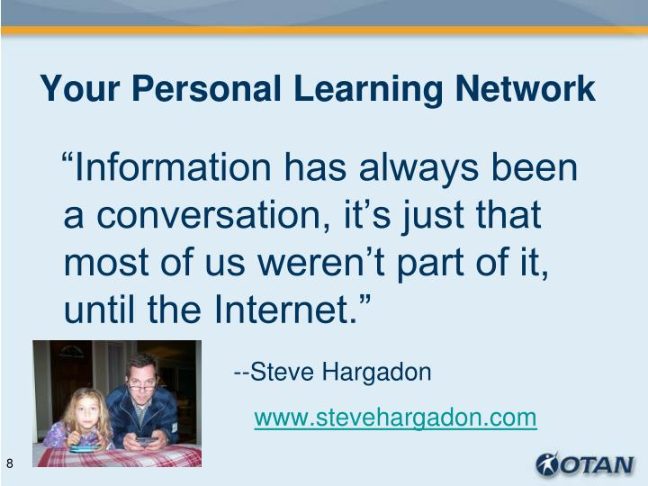 Your Personal Learning Network