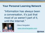 your personal learning network3
