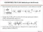 geometr a celular limitaci n por interferencia