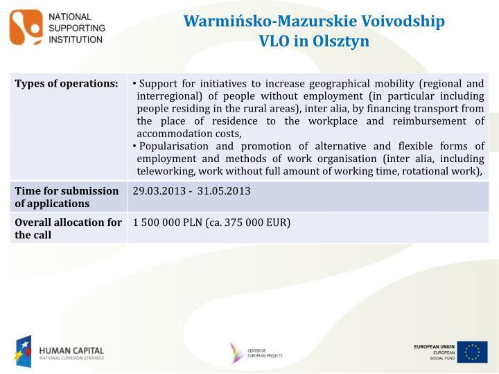 Warmińsko-Mazurskie Voivodship
