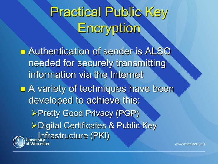 Practical Public Key Encryption