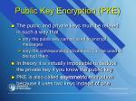 public key encryption pke1