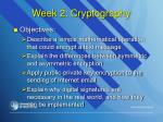 week 2 cryptography