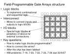 field programmable gate arrays structure
