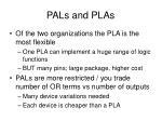 pals and plas1
