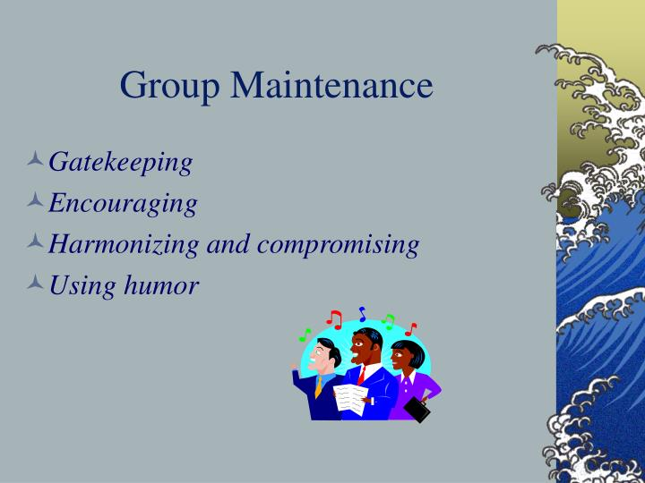 Group Maintenance