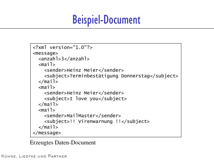 Beispiel-Document