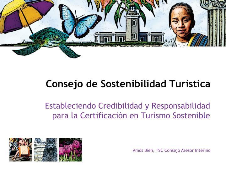 Consejo de Sostenibilidad Turística