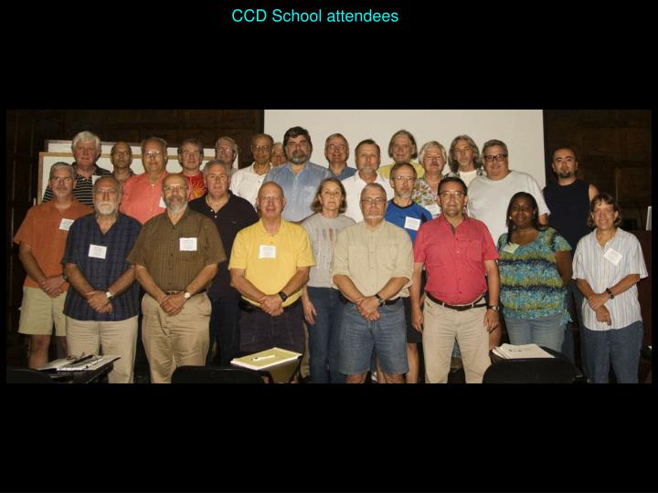 CCD School attendees