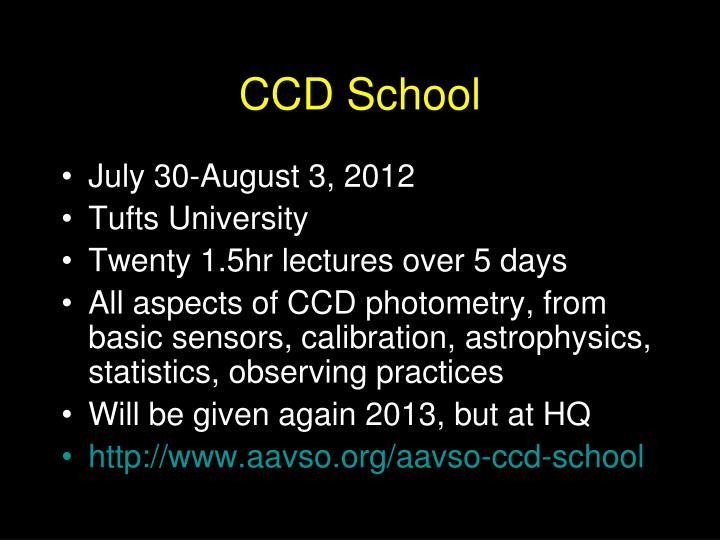 CCD School