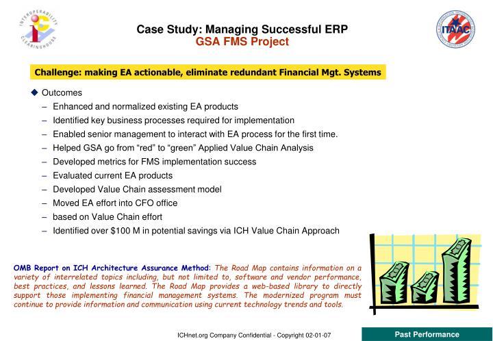 Case Study: Managing Successful ERP