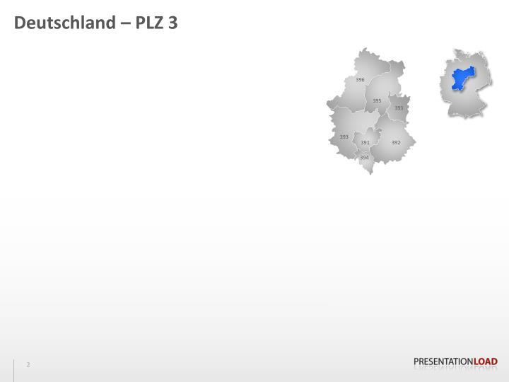 Deutschland – PLZ 3