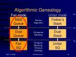 algorithmic genealogy1