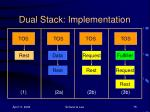 dual stack implementation