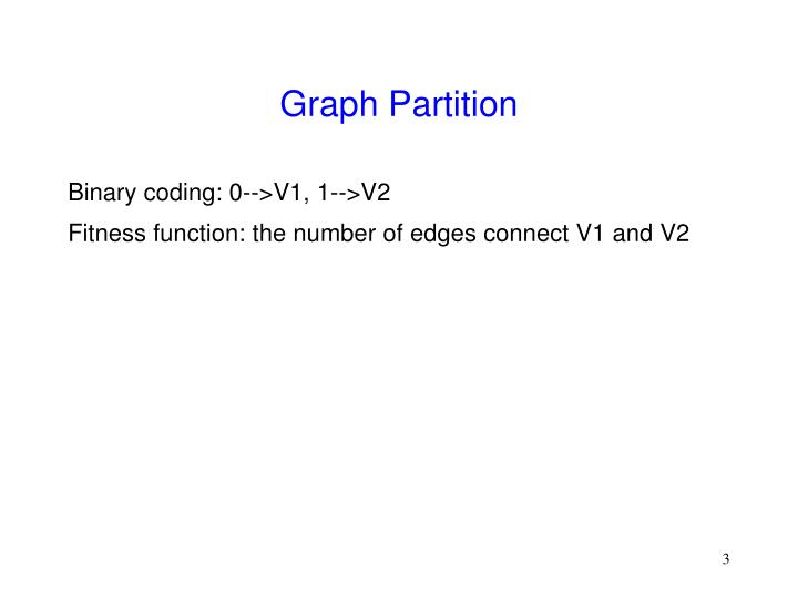 Graph partition1