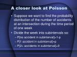 a closer look at poisson