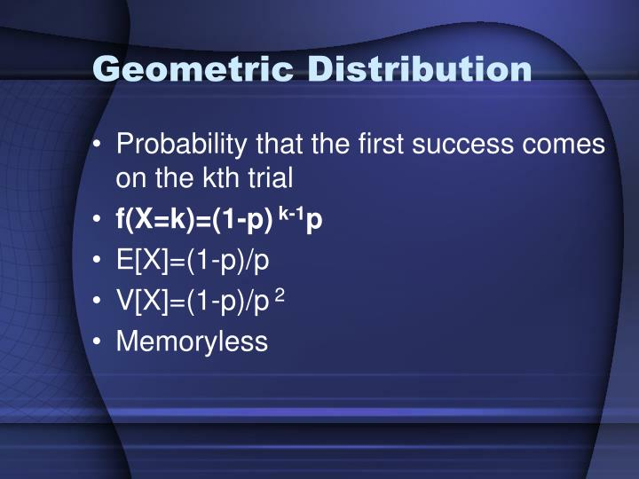 Geometric Distribution