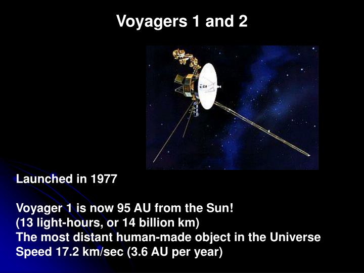 Voyagers 1 and 2