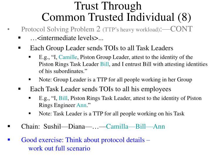 Trust Through