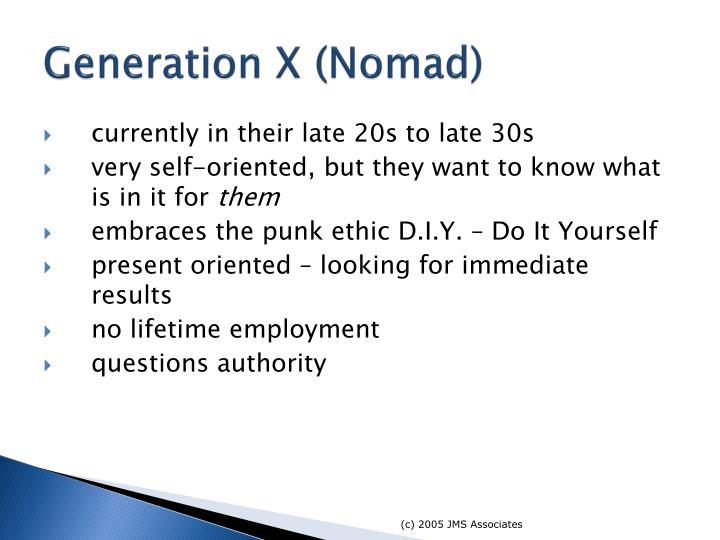 Generation X (Nomad)