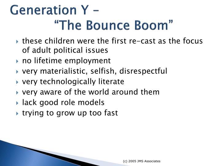 Generation Y –