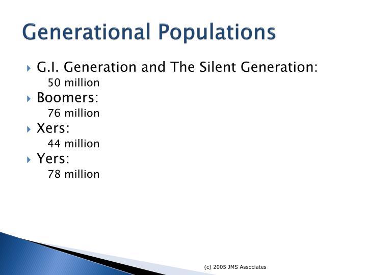 Generational Populations