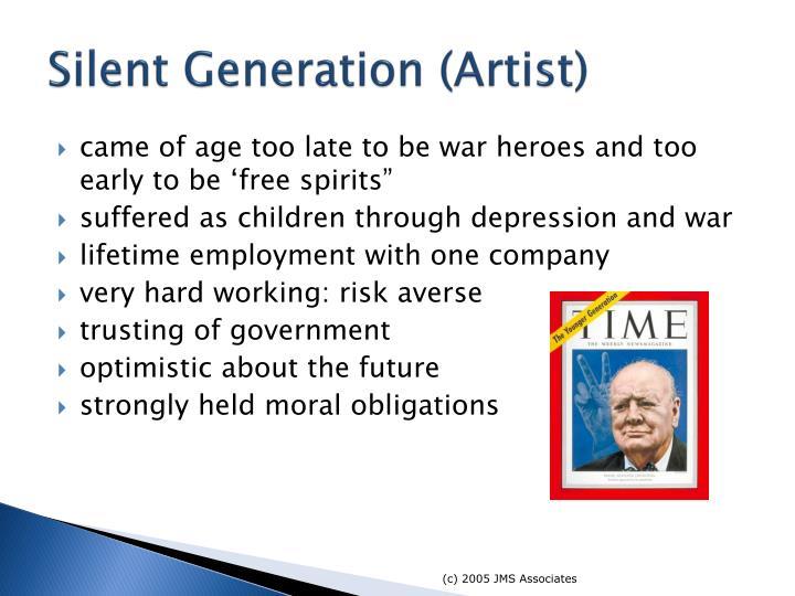 Silent Generation (Artist)