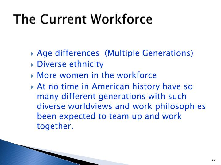 The Current Workforce
